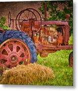 Farming In Hanksville Utah Metal Print