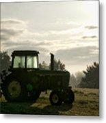 Farming John Deere 4430 Metal Print