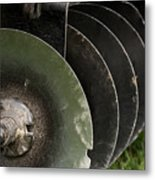 Farming Quite Time Metal Print