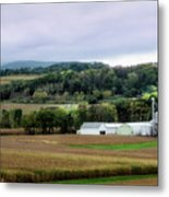 Farmland In Pennsylvania Metal Print