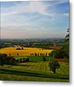 Farmland View Metal Print