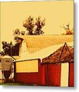 Farmyard Metal Print