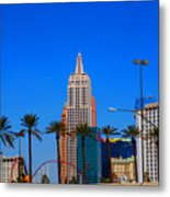 Fascination Las Vegas Metal Print