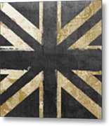 Fashion Flag United Kingdom Metal Print