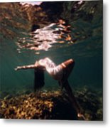Fashion Mermaid II Metal Print
