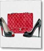 Fashion Statement Metal Print