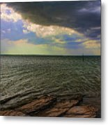 Fast Moving Storm Metal Print