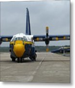Fat Albert Head On Metal Print