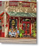 Fat Hen Grocery - New Orleans Metal Print