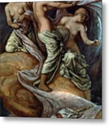 Fates Gathering In Stars Metal Print by Granger