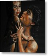 Father And Child Metal Print