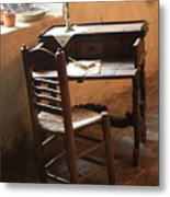 Father Serra's Desk Metal Print