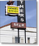 Father's Office Metal Print