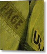 Fatigues Metal Print