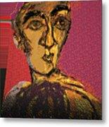 Fayoum Portrait II Metal Print