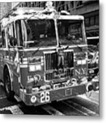 fdny engine New York City USA Metal Print