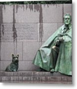 Fdr Memorial - Neither New Nor Order Metal Print
