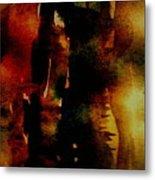 Fear On The Dark Metal Print