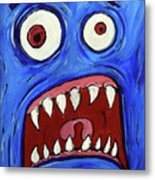 Fear-potentiated Startle Metal Print
