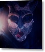 Fear Turns Into Compassion Metal Print