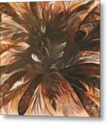 Feather Bloom Metal Print