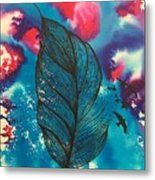 Feathers And Birds  Metal Print