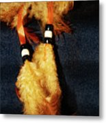 Feathers Of A Dreamcatcher Metal Print