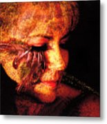 Feathers Of Beauty Metal Print