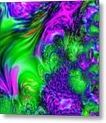 Feathery Winds Metal Print