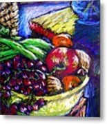 February Still Life In Angelinas Kitchen 1 Metal Print