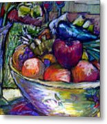 February Still Life In Angelinas Kitchen 3 Metal Print