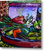 February Still Life In Angelinas Kitchen 5 Metal Print