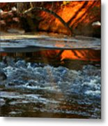 February Thaw In New England Metal Print