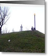 Federal Hill Dog Metal Print