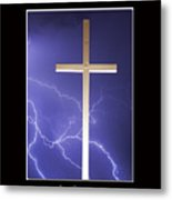 Feel The Power Metal Print