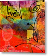 Feeling Alone And Invisible Metal Print