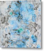 Feeling Deja Blue Metal Print