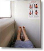 Feet Around The World #14 Metal Print