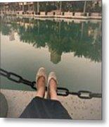 Feet Around The World #21 Metal Print
