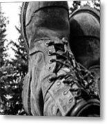 Feet Up Metal Print