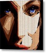 Female Expressions Lvi Metal Print