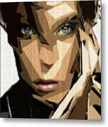 Female Expressions Xliv Metal Print