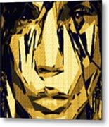 Female Expressions Xlvi Metal Print