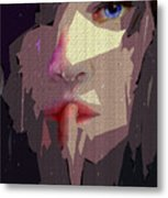 Female Expressions Xlvii Metal Print