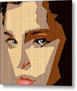Female Expressions Xlviii Metal Print