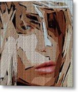Female Expressions Xx Metal Print