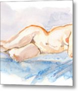Female Nude 04 Metal Print