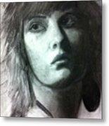 Female Portrait Metal Print