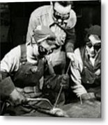 Female Welders - Ww2 Homefront - 1943 Metal Print