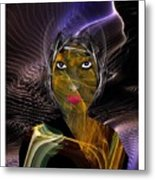 Femme Du Centaure Metal Print